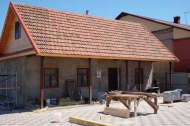В Яникое завершается реконструкция Дома-музея Алима Байсултанова