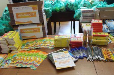 Активисты поздравили 30 многодетных семей в Нальчике с Днем защиты детей