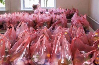 Педагоги доставили пенсионерам КБР более тысячи продуктовых наборов