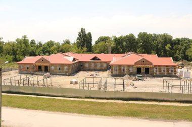 В Тереке строится детский сад