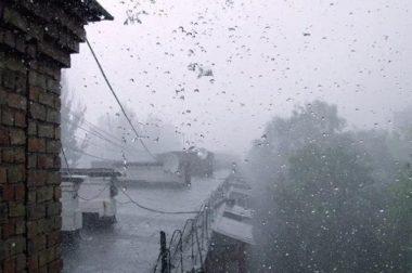 Сильные дождь, град и ветер ожидаются в КБР в ближайшие три дня