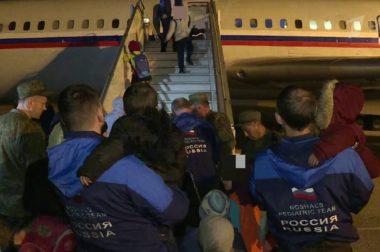 Вывезенных из Сирии российских детей передали родственникам