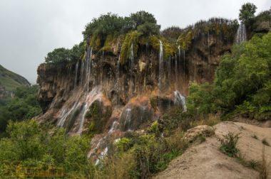 Куда делась вода на водопаде
