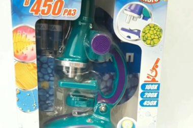 Детский микроскоп в магазине Праздник