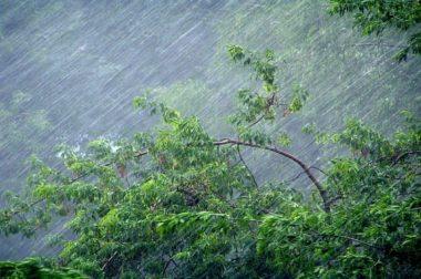 В двух районах КБР шквалистый ветер и град повредил крыши школ