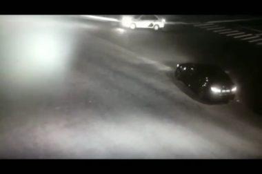 Автоинспекторы Нальчика привлекли к ответственности водителя «BMW-М5», дрифтовавшего ночью на перекрестке