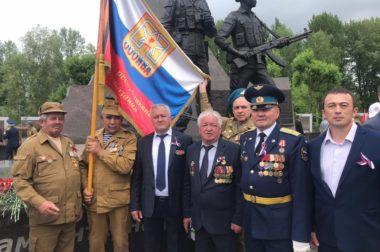 «Афганцы» из КБР посетили открытие монумента в Казани