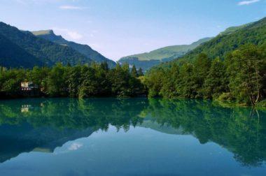 Голубое озеро – претендент на место проведения чемпионата