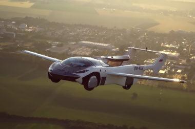 Летающий автомобиль совершил первый междугородний перелет