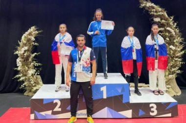 Милана Бекулова взяла серебро в Таллине