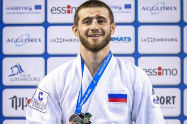 Кантемир Кодзов — призер первенства Европы по дзюдо