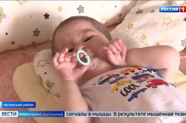 Маленький Магомед Тюбеев снова дома
